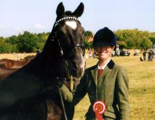 Kent Livery Yard  Jimmy - champion veteran ridden